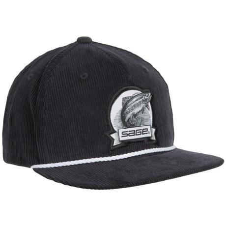 Sage Heritage Corduroy Baseball Cap (For Men)