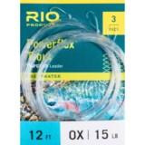 Rio Powerflex Knotless Leader - 12', 3-Pack