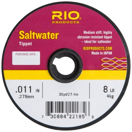 Rio Saltwater Nylon Tippet - 30 yds.