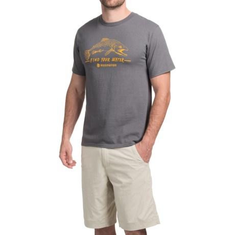 Redington Find Your Water T-Shirt - Short Sleeve (For Men)