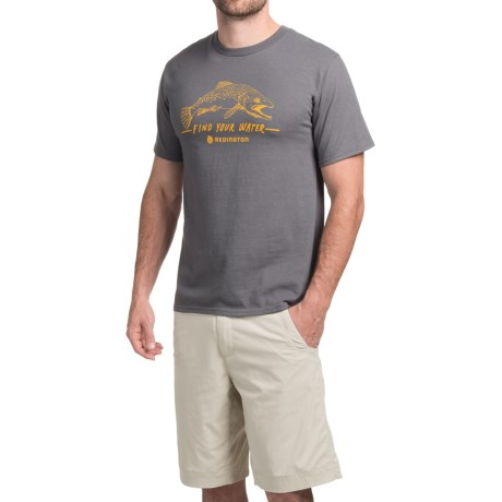 Redington Find Your Water T-Shirt - Short Sleeve (For Men)