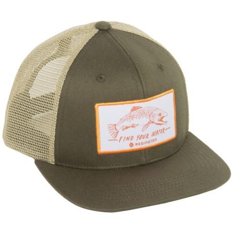 Redington Find Your Water Trucker Hat (For Men)