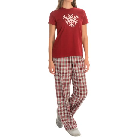 Life is good® Pajamas - Short Sleeve (For Women)