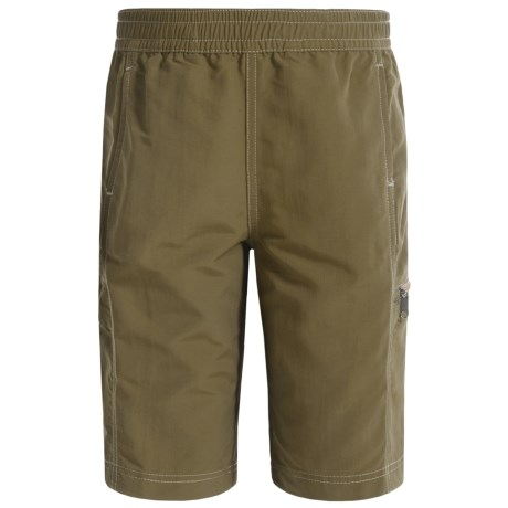 White Sierra Sierra Trail Shorts - UPF 30 (For Little and Big Boys)