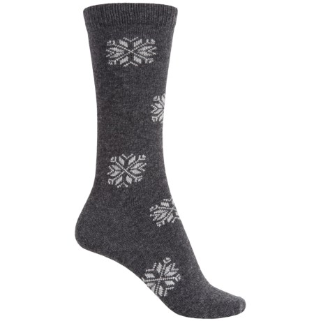 b.ella Morgan Snowflake Socks - Crew (For Women)