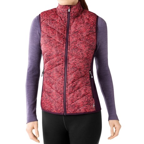 SmartWool Corbet 120 Printed Vest - Merino Wool, Insulated (For Women)
