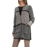 Nic+Zoe Herringbone Mix Reversible Sweater (For Women)