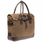 Will Leather Goods Zigzag Lookout Canvas Briefcase