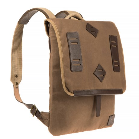 Will Leather Goods Burnt Lake Canvas Canoe Pack