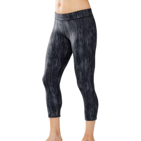 SmartWool PhD Printed Capri Leggings (For Women)