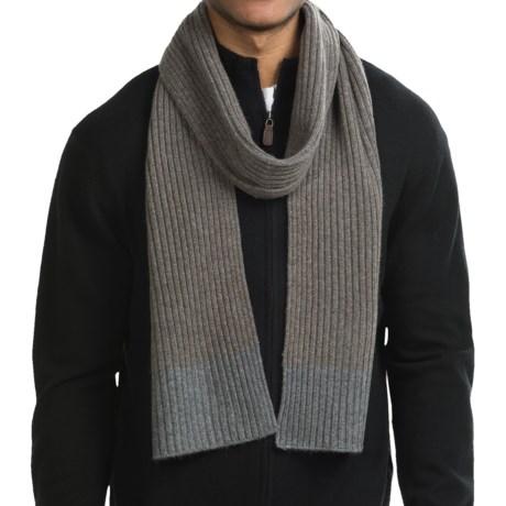 Raffi Knit Cashmere Scarf (For Men)