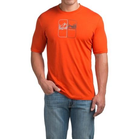 SmartWool Mountain Script Graphic T-Shirt - Merino Wool, Short Sleeve (For Men)