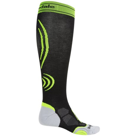 Bridgedale Graduated Compression Active Running Socks - Over the Calf (For Men and Women)
