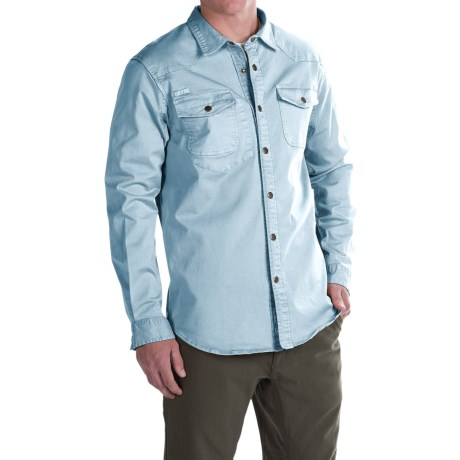 Gramicci Freedom G Shirt - Snap Front, Long Sleeve (For Men)