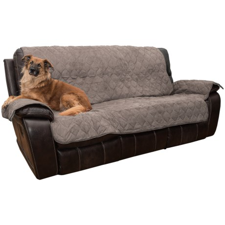 Yes Pets Quilted Microsuede Sofa Cover - Microfiber