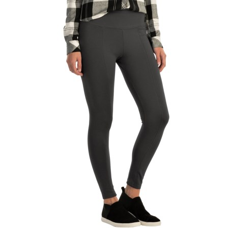 Wide Waist Ponte Leggings (For Women)