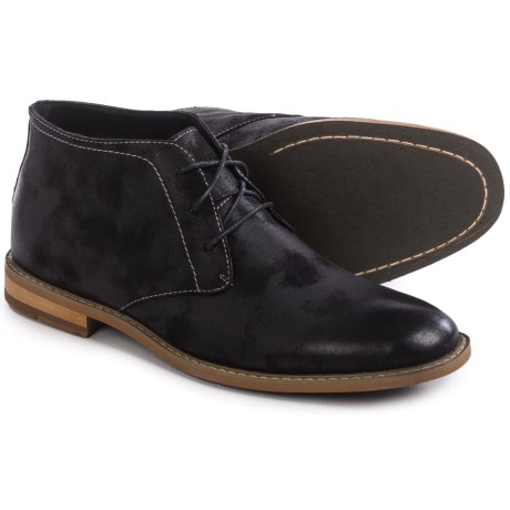 Deer Stags Seattle Coated Canvas Chukka Boots (For Men)