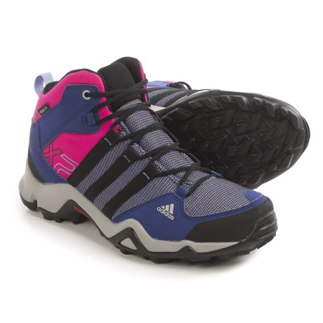 adidas outdoor AX2 Mid CP Hiking Boots - Waterproof (For Little and Big Kids)