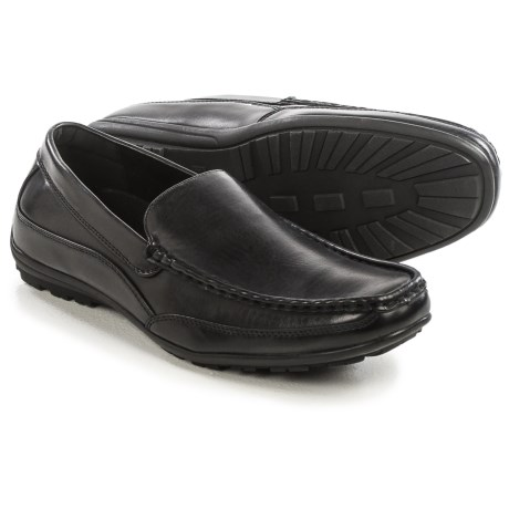 Deer Stags Drive Loafers - Vegan Leather (For Men)