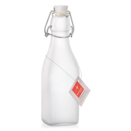 Bormioli Rocco Frosted Swing Bottle - 8.5 oz.