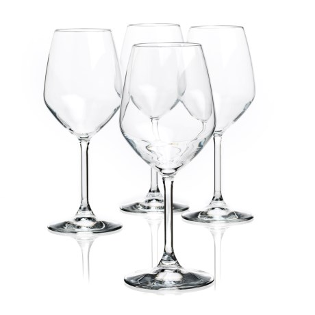 Bormioli Rocco Restaurant White Wine Glasses - Crystal, Set of 4