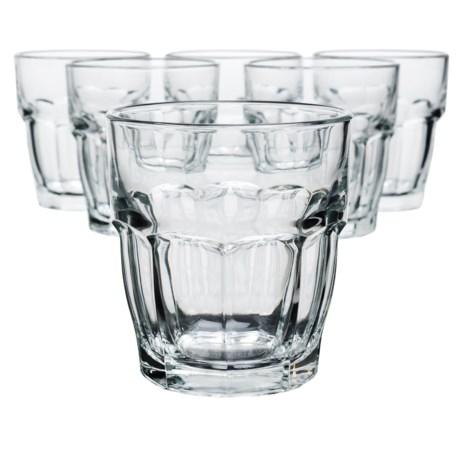 Bormioli Rocco Rock Bar Rocks Glasses - Set of 6