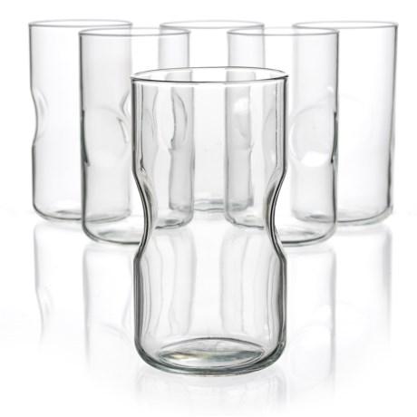 Bormioli Rocco Giove Cooler Glasses - Set of 6