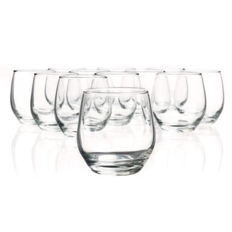 Bormioli Rocco Kalix Rocks Glasses - 10.25 fl.oz., Set of 12