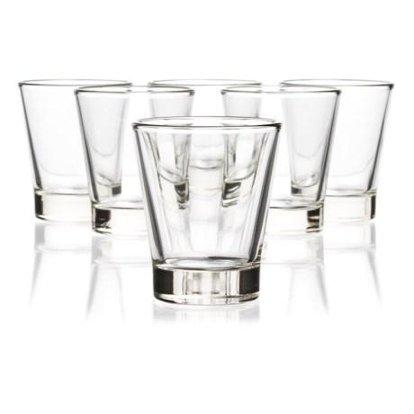 Bormioli Rocco Caffeino Espresso Shot Glasses - 3 fl.oz., Set of 6