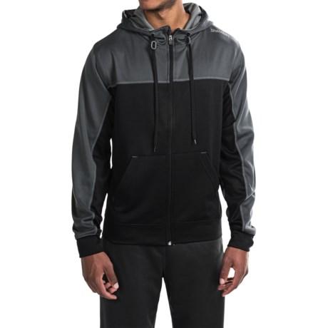 Spalding Zone High-Performance Fleece Hoodie - Full Zip (For Men)