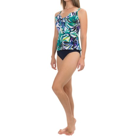Trimshaper Amy Jungle Gem Tankini Top (For Women)