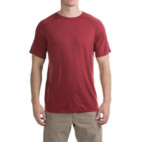 Ibex W2 Sport Basic T-Shirt - Merino Wool, Short Sleeve (For Men)