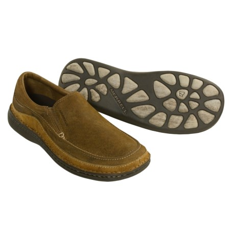 Merrell Guru Leather Moccasins (For Men)
