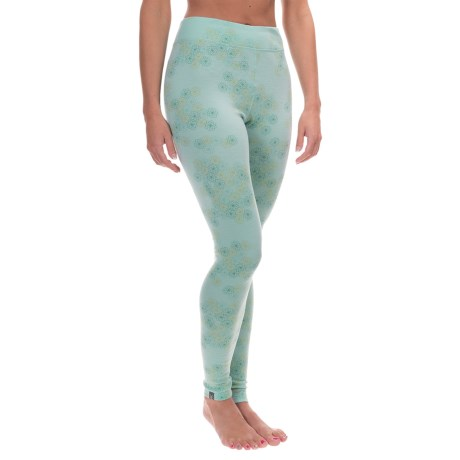 Ibex Woolies 2 Printed Base Layer Bottoms - Merino Wool (For Women)