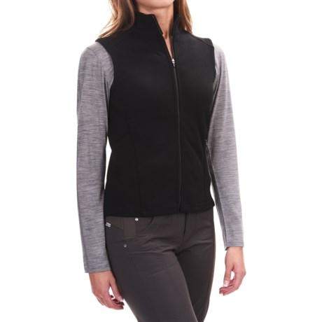 Ibex Shak Vest - Merino Wool, Full Zip (For Women)
