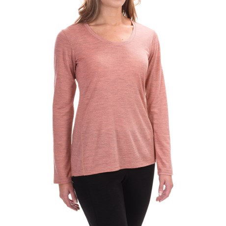 Ibex OD Heather Shirt  - Merino Wool, Long Sleeve (For Women)