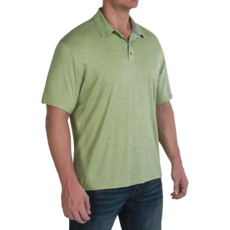SmartWool Fish Creek Polo Shirt - Merino Wool-TENCEL®, Short Sleeve (For Men)