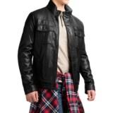 Levi's Levi's Faux-Leather Trucker Jacket - Sherpa Lining (For Men)