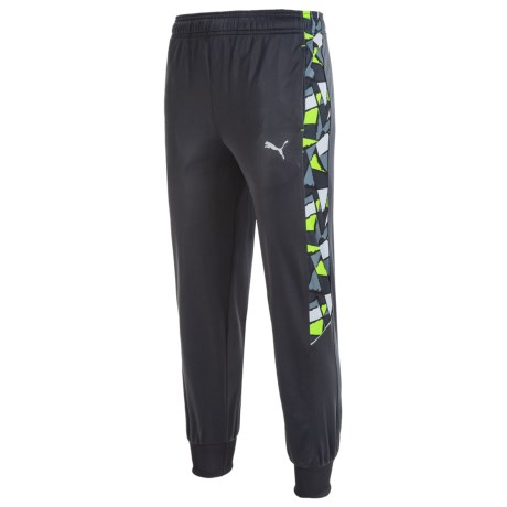 Puma Printed Panel Track Pants (For Big Boys)