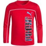 Puma Technical Shirt - V-Neck, Long Sleeve (For Big Boys)