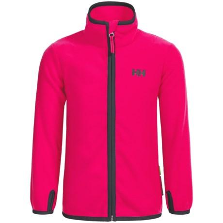 Helly Hansen K Daybreaker Polartec® Fleece Jacket (For Little and Big Kids)