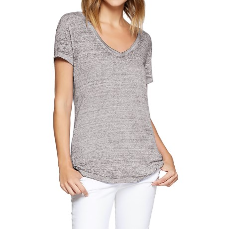 Threads 4 Thought Vintage Wash V-Neck T-Shirt - Organic Cotton, Short Sleeve (For Women)