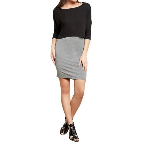 Threads 4 Thought Tobi Dress - Modal, 3/4 Sleeve (For Women)