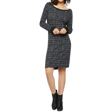 Threads 4 Thought Kaia Sweater Dress - Organic Cotton, Long Sleeve (For Women)