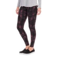 Threads 4 Thought Bleecker Street Fleece Leggings (For Women) in Rosebud/Merlot - Closeouts