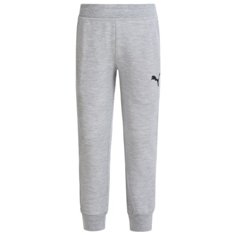 Puma French Terry Joggers (For Little Boys)