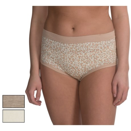Delta Burke Basic Brief Panties - 3-Pack (For Plus Size Women)