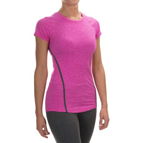 New Balance Trinamic Shirt - Short Sleeve (For Women)