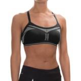 New Balance Strappy Seamless Sports Bra - Low Impact (For Women)