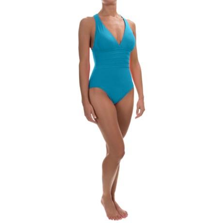 La Blanca Island Goddess Strappy One-Piece Swimsuit (For Women)
